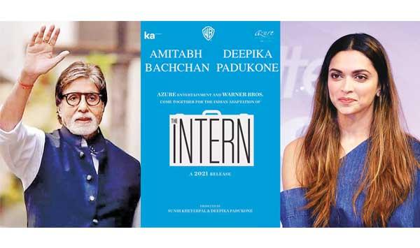 Amitabh And Deepika Together In The Intern