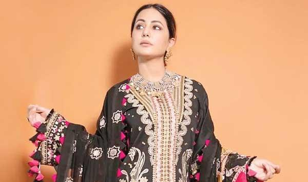 Which Pakistani Designer Did Hina Khan Wear