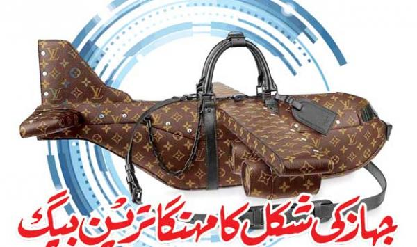 The Most Expensive Ship Shaped Bag