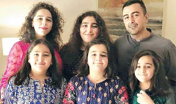 Shaan Shahids Message Full Of Love For Daughters