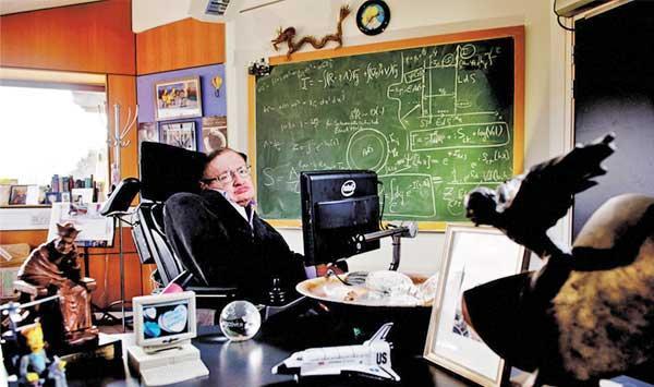 Stephen Hawkings Personal Belongings In The Museum