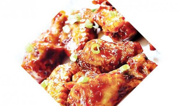 Desi Style Honey Chicken
