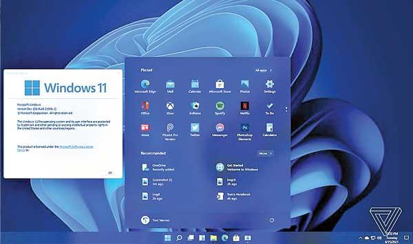 New Windows 11 Operating System