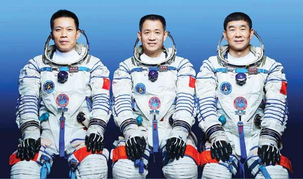 The Shenzhou 2 Mission Took The Chinese Astronauts To The Space Station