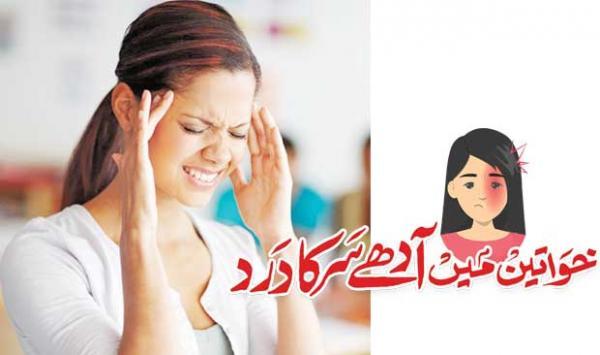 Half A Headache In Women