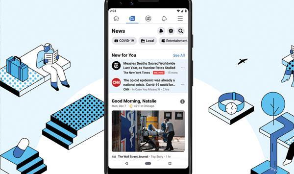 Facebooks Own News Platform