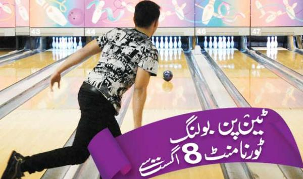 Ten Pin Bowling Tournament From August 8