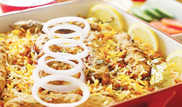 Beef Kebab Biryani