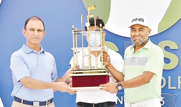 Shabbir Iqbal Winner Of The Cns Golf Championship