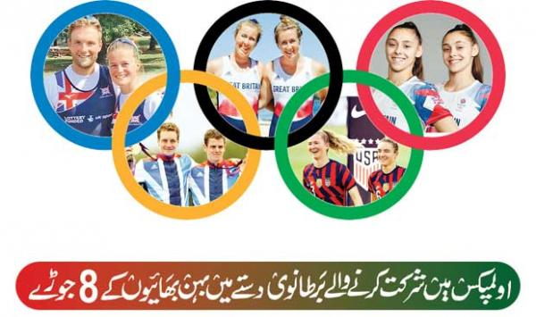 Eight Siblings In The British Contingent Participating In The Olympics