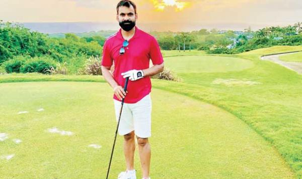 How Did Hafeez Benefit From Playing Golf