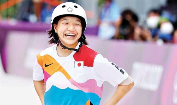 Olympic Gold Medal For 13 Year Old Momi Nishiya Of Japan