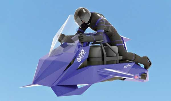 What Is The Future Of Flying Motorcycles