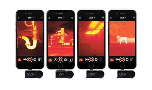 Low Cost Infrared Sensor For Smartphone