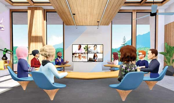 Facebook Virtual Reality To Make The Meeting Interesting