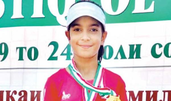 Haniya Minhas Won A Silver Medal At The Asian Tennis Championships
