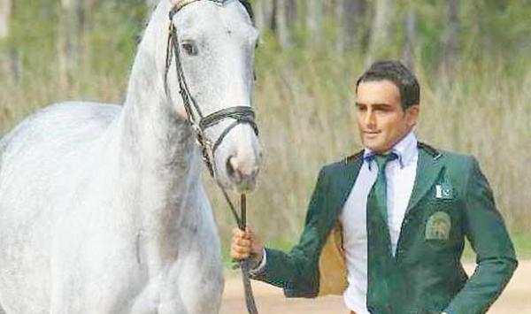 Pakistani Equestrian Usman Khan Awaits Help