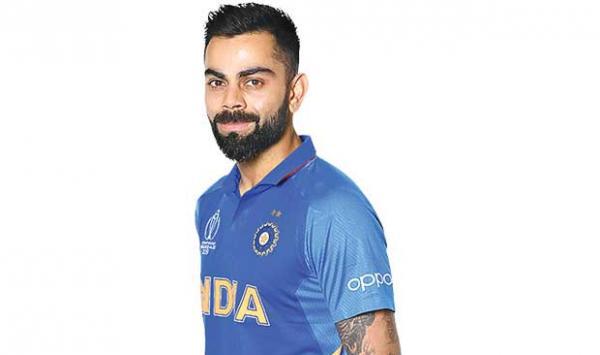 Virat Kohli Scored 50 Runs In The Innings
