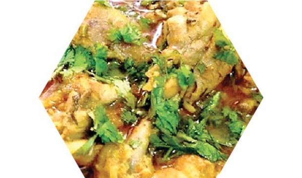 Chicken Seasoned Curry