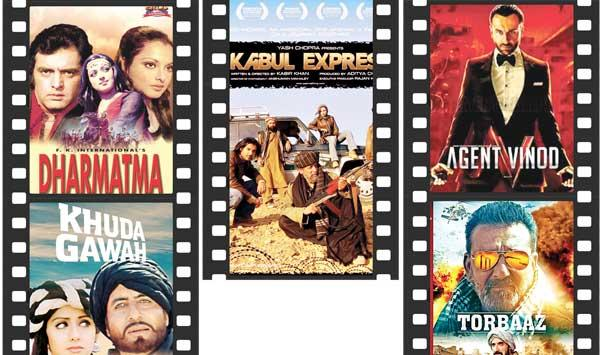 Indian Films Shot In Afghanistan