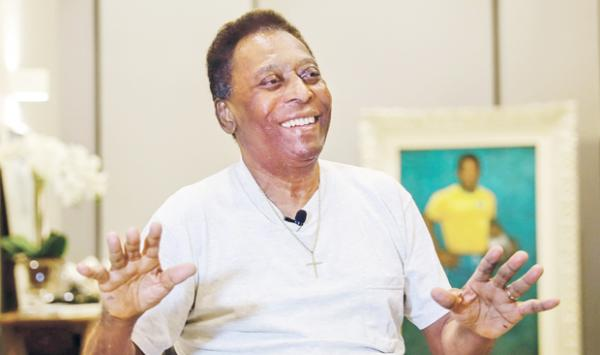 Brazilian Legend Pele Completes Surgery Tumor Removed