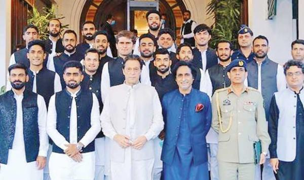 Prime Minister Imran Khans Advice To The National Team To Adopt An Aggressive Strategy